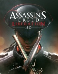 Logo art for Assassin's Creed Liberation, music by video game music composer Winifred Phillips.