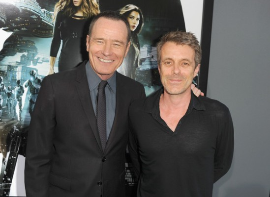 At the 2012 premiere of one of his most recent projects, Total Recall, Harry Gregson-Williams was photographed with Bryan Cranston, the actor best known for his role on Breaking Bad, who played the villain in the Total Recall movie.