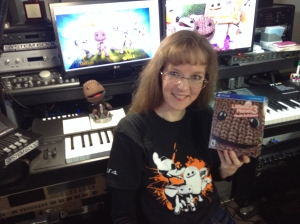 My very own copy of LBP3! Sackboy looks interested back there...