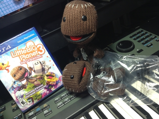Fresh air for Sackboy's new friend!