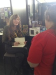 Thanks for coming to the signing, Ashley!