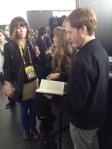 Feona and Brett at my book signing