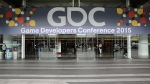 Always get excited when I see that big GDC banner!