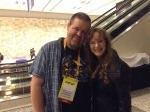 Favorite memories from this year's GDC include meeting with the awesome Robert Workman, game journalist extraordinaire!