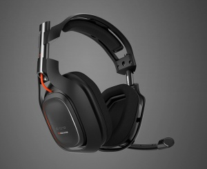 The Astro A50 Wireless 7.1 Surround Sound Headset.