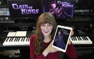 Clash of Kings, music composed by Winifred Phillips (video game composer).