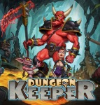 Dungeon Keeper logo (discussed in a blog exploring portable game music and audio, by video game composer Winifred Phillips, author of A COMPOSER'S GUIDE TO GAME MUSIC)