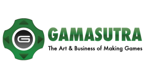 The Gamasutra site logo, from the article by video game composer Winifred Phillips