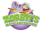 Zorbits Math Adventure logo (portable game audio and music article, by video game composer & author Winifred Phillips)