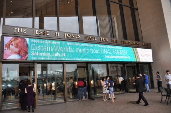 Distant Worlds Concert marquee (blog article by Winifred Phillips, award-winning author and game composer)