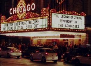 Legend of Zelda Symphony of the Goddesses marquee (article by game composer Winifred Phillips)