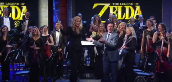 Colbert presents The Legend of Zelda Concert (article by Winifred Phillips, video game composer)