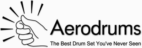 Logo of the Aerodrums application, from the article by Winifred Phillips (video game composer)