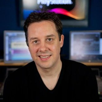 Pictured: Garry Taylor, Audio Director in Sony Computer Entertainment Europe's Creative Services Group (from the article by Winifred Phillips, game music composer)