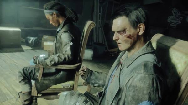 Image from the Homefront: The Revolution game (from the article by game music composer Winifred Phillips about building suspense in music composition)