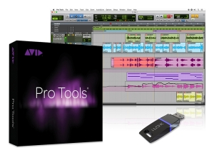 From the article by game music composer Winifred Phillips - an illustration of the Pro Tools application