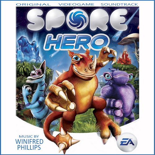 "Image of the Spore Hero soundtrack album (from the ""Interactive Music for the Video Game Composer"" article by Winifred Phillips, award-winning game composer)"
