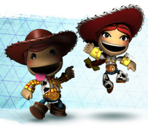 Image illustrating the LittleBigPlanet 2 Toy Story game - music by video game composer Winifred Phillips.