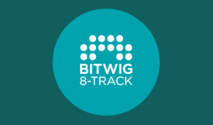 The Bigwig 8 Track logo, from the article by Winifred Phillips (award-winning video game composer).