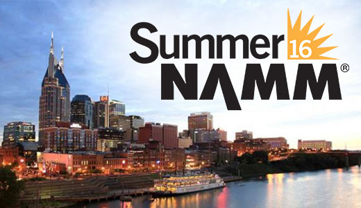 Logo for the Summer NAMM 2016 show, from the article by game music composer Winifred Phillips.