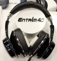 A photo of the Entrim 4D headphones, from the article written by Winifred Phillips (video game music composer).