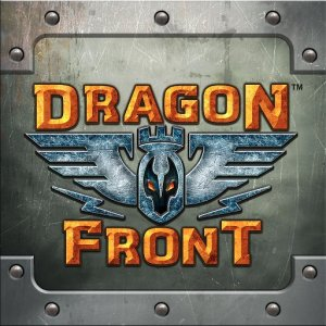 The Dragon Front logo for the virtual reality game, from the article written by Dragon Front's video game composer Winifred Phillips.