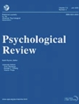 Cover of the journal Psychological Review, from game composer Winifred Phillips' article on the use of music to elevate in-game suspense.