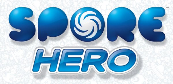 Depiction of the official logo from the Spore Hero video game from Electronic Arts, as included in the article by Winifred Phillips (video game composer).