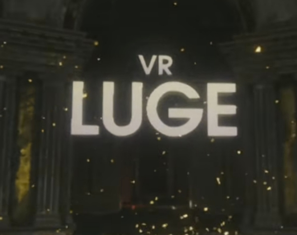 The logo for the VR Luge portion of the popular PlayStation VR Worlds game, from the article by Winifred Phillips (video game music composer).
