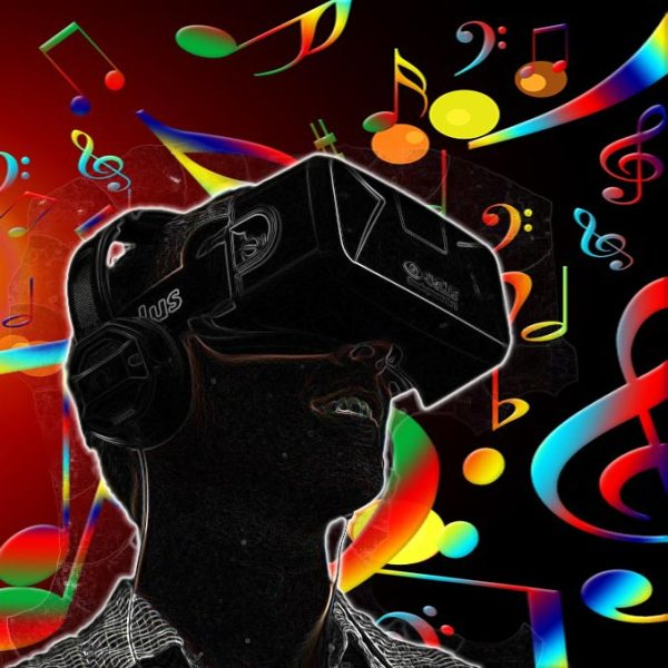 Illustration of the role of music in the popular VR platform, from the article by Winifred Phillips for video game composers