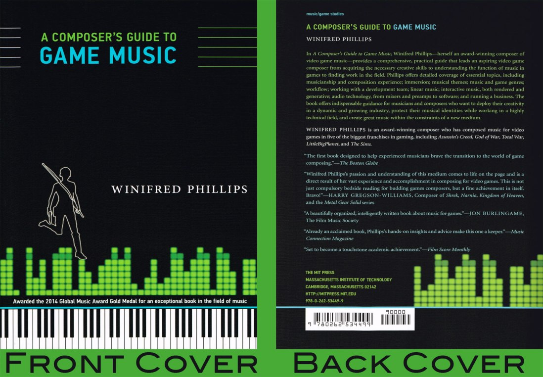 award-winning video game music composer Winifred Phillips' book, A Composer's Guide to Game Music, is now available in paperback.