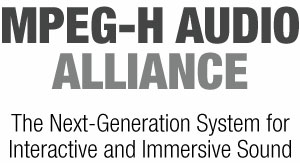 The MPEG-H Audio Alliance logo from the creators of the famous MPEG format, included in the article by Winifred Phillips for video game composers.