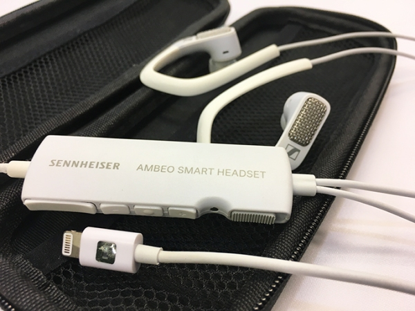 In this article discussing popular VR issues for video game composers, Winifred Phillips discusses the technology of the Sennheiser Ambeo Smart Headset.