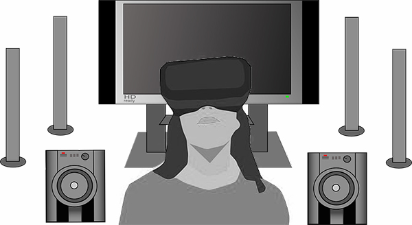 In this article for video game composers, Winifred Phillips discusses the incompatible technologies of Surround Sound systems and the famous Virtual Reality platforms.