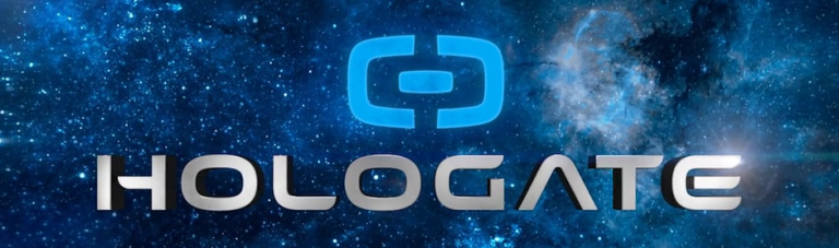 Depiction of the Hologate logo, from the article written by Winifred Phillips for video game composers.