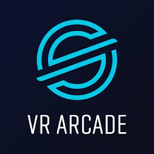A depiction of the VR Arcade logo created by the popular Survios VR game development studio, from the article for video game composers by Winifred Phillips (game music composer).