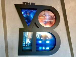 Photo of the company sign for the popular virtual reality arcade The VOID, in the article written by Winifred Phillips for video game composers.
