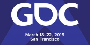 The GDC logo, accompanying the discussion of networking at such famous game conferences, from the article for video game composers by Winifred Phillips (game music composer).