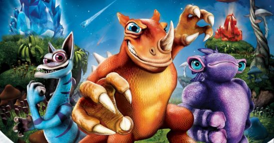 Detail from cover image of popular video game Spore Hero (from the article by Winifred Phillips, video game composer).