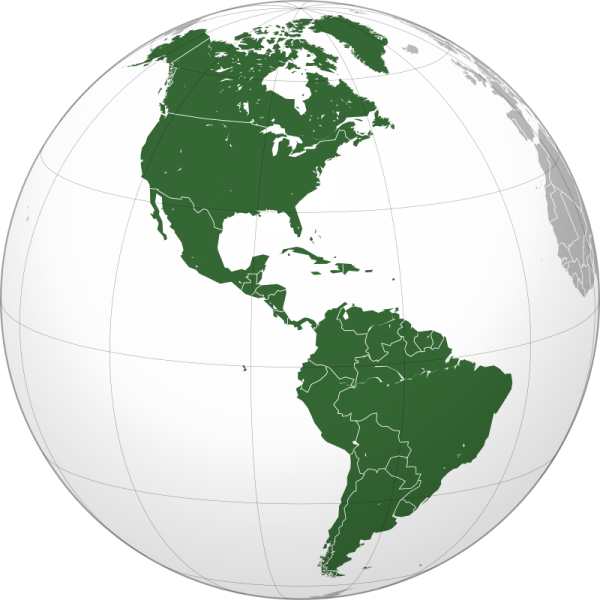 An illustration of The Americas, as included in the article detailing resources for video game music composers, written by composer Winifred Phillips.