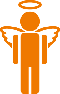 A depiction of an angel, to illustrate a discussion of self-less donation of time and talent. From the article by award-winning video game composer Winifred Phillips.