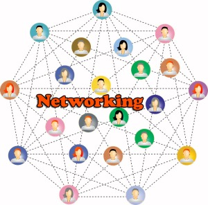 Image depicting the concept of networking as discussed in the article about business practices for fledgling game composers, written by popular game music composer Winifred Phillips.