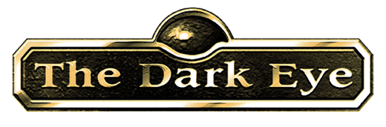 The Dark Eye logo, included in the article by composer Winifred Phillips about the music she composed for the franchise's latest game, The Dark Eye: Book of Heroes.