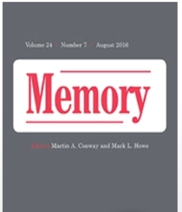An image of the scholarly journal Memory, used to illustrate an article by Winifred Phillips (award-winning video game composer).
