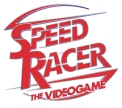 Image depicting the official logo of the Speed Racer video game, as included in the article written by popular video game composer Winifred Phillips.
