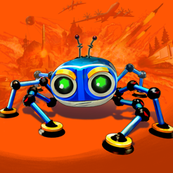 A depiction of Agent 8 - the hero of the Spyder video game developed by Sumo Digital for Apple Arcade.  The music of Spyder was composed by Winifred Phillips (popular music composer for games).