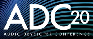 The Audio Developers Conference logo image. This image was used to illustrate an article discussing conferences for game audio practitioners. The article was written by Winifred Phillips (composer of game music).