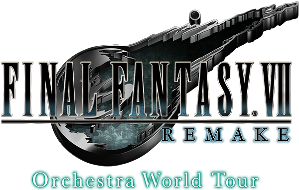 The logo image of the Final Fantasy IVV Remake Orchestra World Tour. This concert tour is discussed in the article about live game music performances during the coronavirus pandemic, written by Winifred Phillips (video game composer).