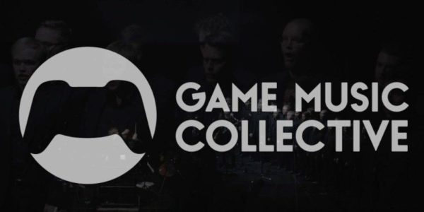 The logo of the Game Music Collective, as included in the article by video game composer Winifred Phillips. This article discusses the logistics of live video game music concerts during the coronavirus pandemic.