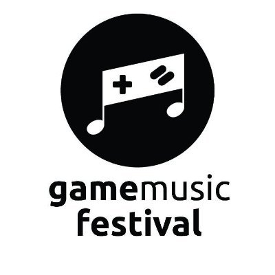 The official gamemusic festival logo, as included in the article written by award-winning game composer Winifred Phillips.